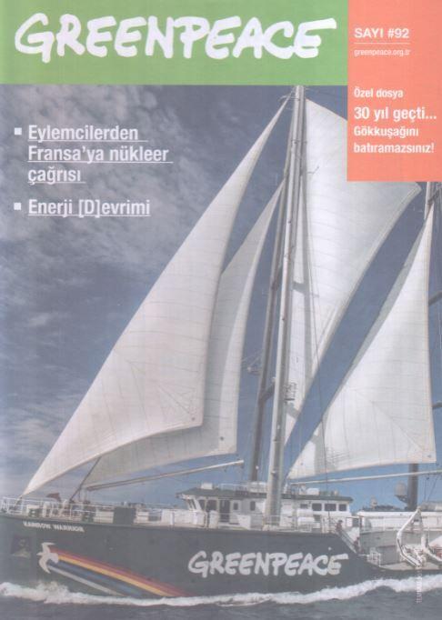 Greenpeace Bülteni - Sayı 92 - Temmuz 2015