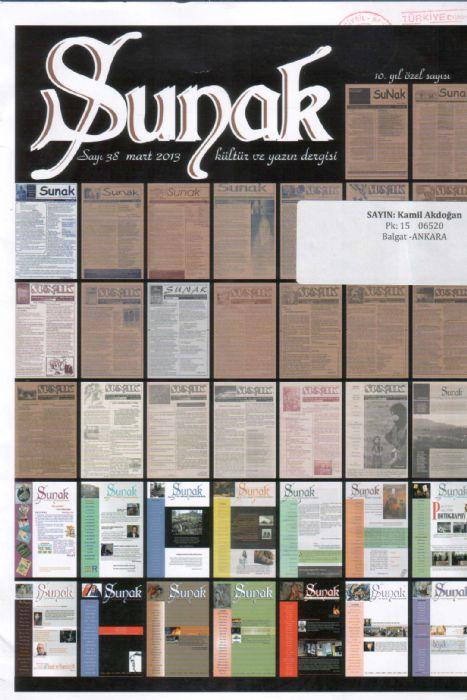 SUNAK DERGİSİ –SAYI 38 – MART 2013