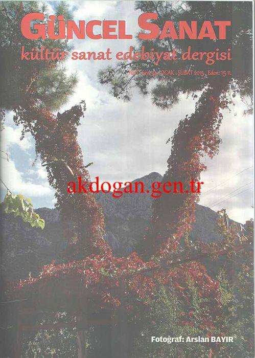 GÜNCEL SANAT DERGİSİ - SAYI 34 - OCAK ŞUBAT 2015