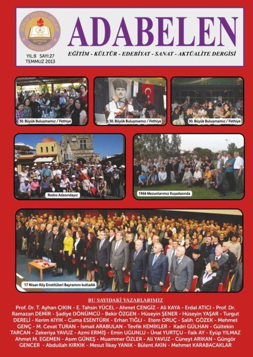 AY VAKTİ DERGİSİ - SAYI 145 - TEMMUZ AĞUSTOS 2013