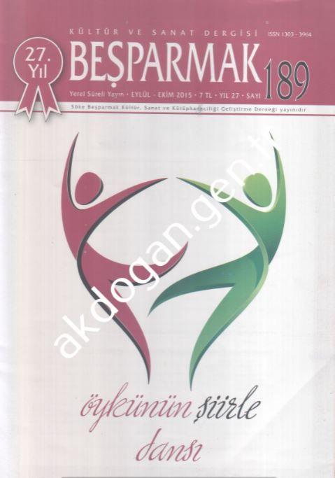 Beşparmak Dergisi - Sayı 189 - Eylül Ekim 2015