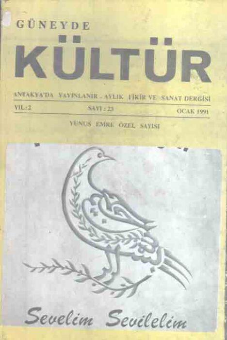 GÜNEYDE KÜLTÜR DERGİSİ - SAYI 23 - OCAK 1991