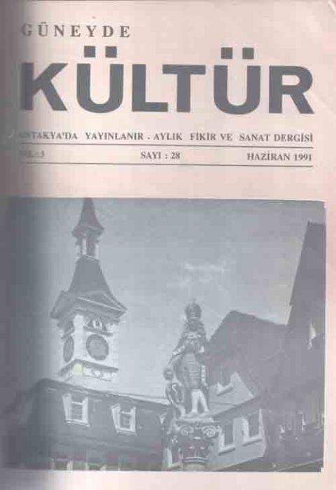 GÜNEYDE KÜLTÜR DERGİSİ - SAYI 29 - TEMMUZ 1991