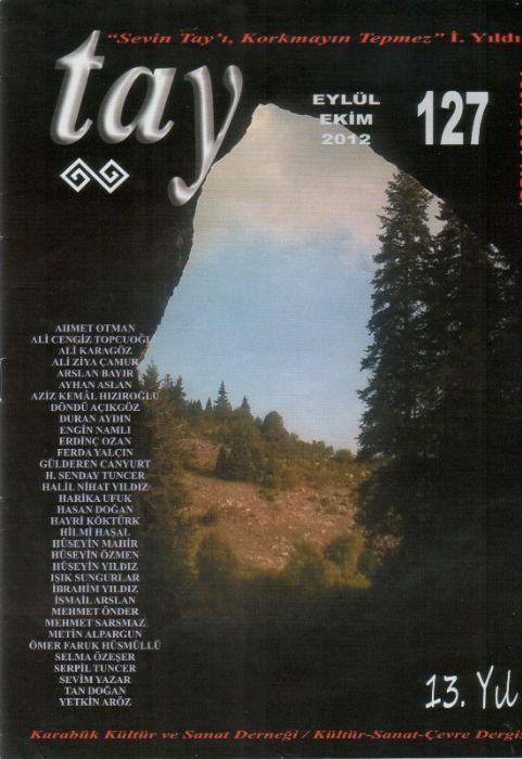 TAY DERGİSİ - SAYI 127 - EYLÜL EKİM 2012
