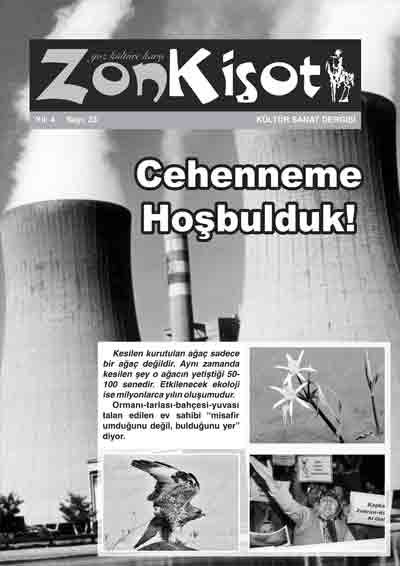 ZON KİŞOT DERGİSİ - SAYI 23