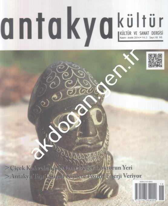 Antakya Kültür - Mayıs Haziran 2015 - Sayı 19
