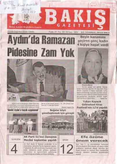 GÜNEYSU DERGİSİ - SAYI 105 - BAHAR 2013