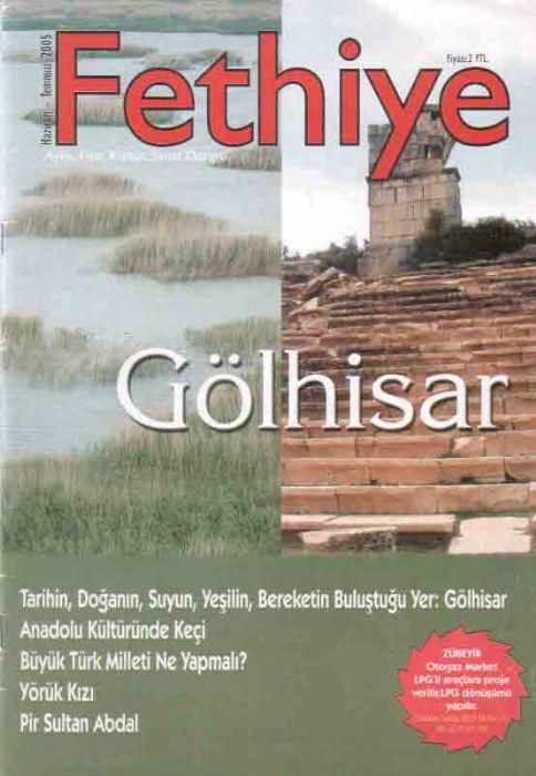 FETHİYE DERGİSİ - TEMMUZ 2005