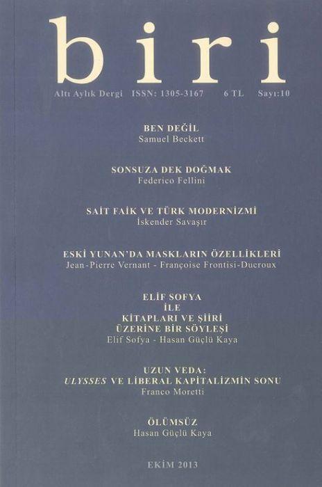 BİRİ DERGİSİ - SAYI 10 - EKİM 2013