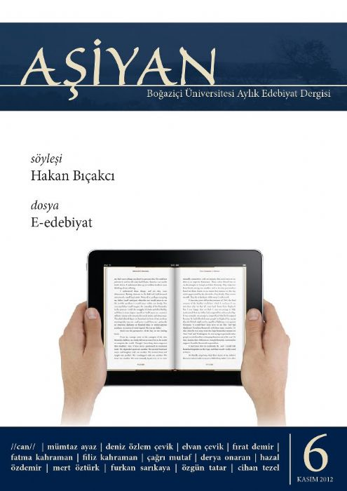 AŞİYAN EDEBİYAT DERGİSİ - KASIM 2012 - SAYI 4
