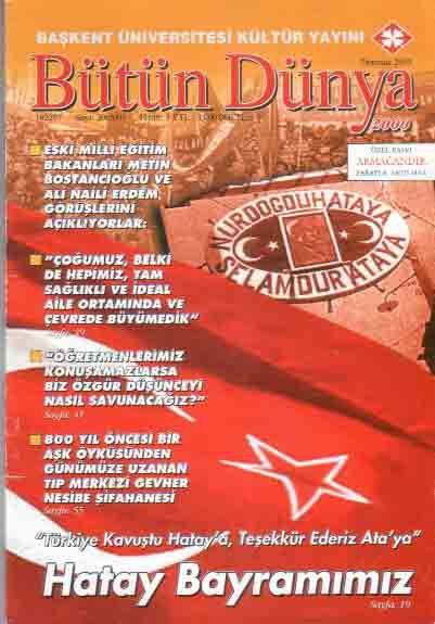 BÜTÜN DÜNYA DERGİSİ - TEMMUZ 2005