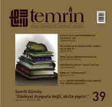 TEMRİN DERGİSİ - SAYI 39