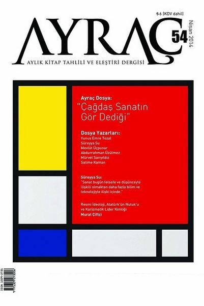 Ayraç Dergisi - Sayı 54 - Nisan 2014