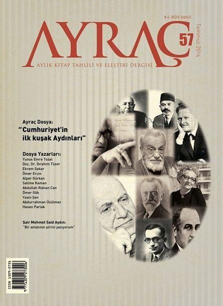 Ayraç Dergisi - Sayı 57 - Temmuz 2014