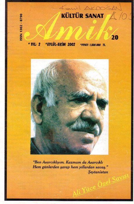 AMİK DERGİSİ - SAYI 20 - EYLÜL EKİM 2003