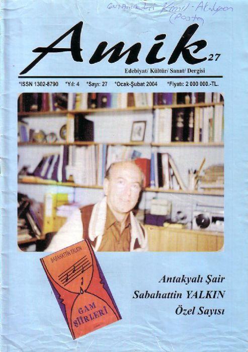 AMİK DERGİSİ - SAYI 27 - OCAK ŞUBAT 2004