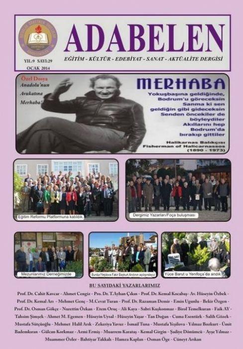 ADABELEN DERGİSİ - SAYI 29 - OCAK 2014
