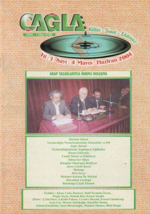 ÇAĞLA DERGİSİ - SAYI 4 - MAYIS HAZİRAN 2004