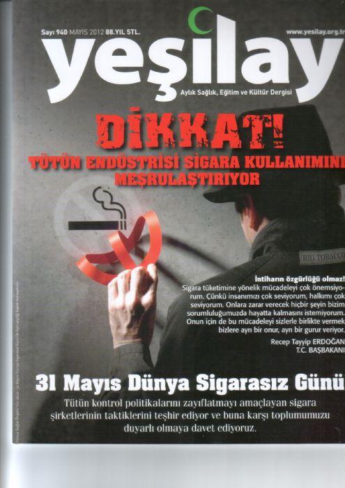 YEŞİLAY DERGİSİ - SAYI 940 - MAYIS 2012
