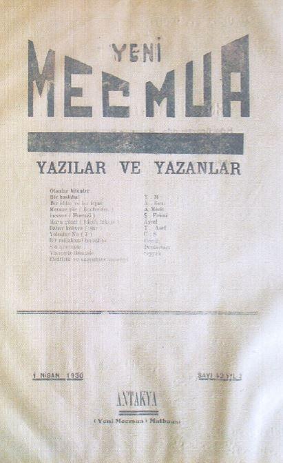 Yeni Mecmua Dergisi