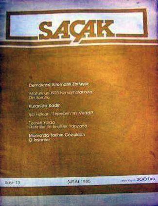 SAÇAK DERGİSİ - SAYI 13 - ŞUBAT 1985