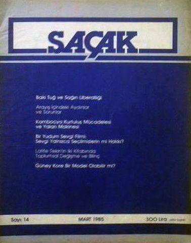 SAÇAK DERGİSİ - SAYI 14 - MART 1985