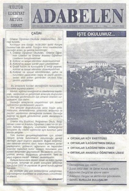 AKATALPA DERGİSİ - ŞUBAT 2002 - SAYI 26