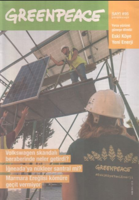 Greenpeace Bülteni - Sayı 95 - Ekim 2015