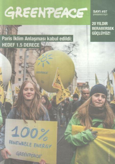 Greenpeace Bülteni - Sayı 97 - Aralık 2015