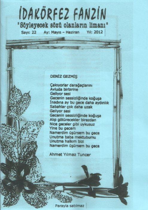 İDAKÖRFEZ FANZİN – SAYI 22 – MAYIS HAZİRAN 2012