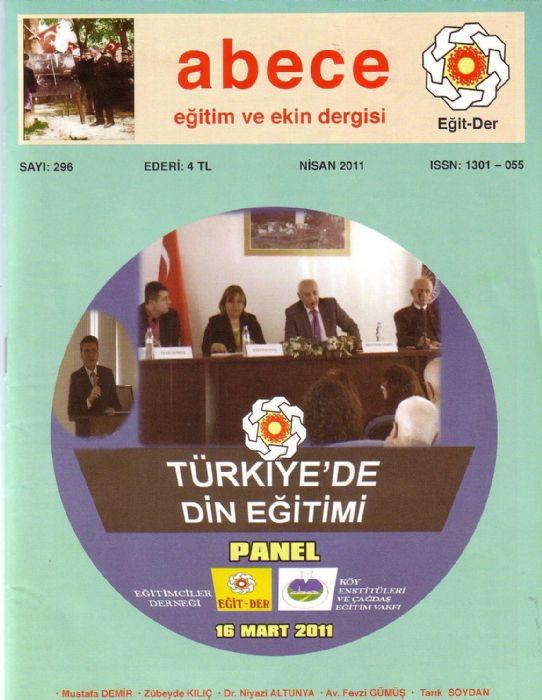 Abece EĞİTİM VE EKİN DERGİSİ - SAYI 296