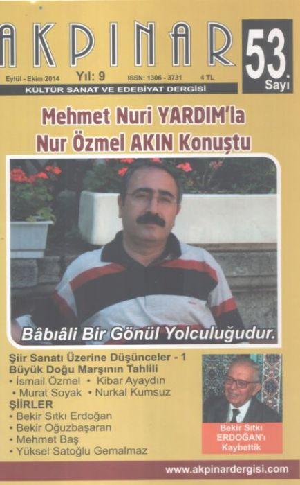 AKPINAR DERGİSİ - SAYI 53 - EYLÜL EKİM 2014