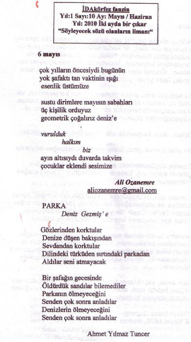 İDAKÖRFEZ FANZİN - SAYI 10 (MAYIS-HAZİRAN 2010)