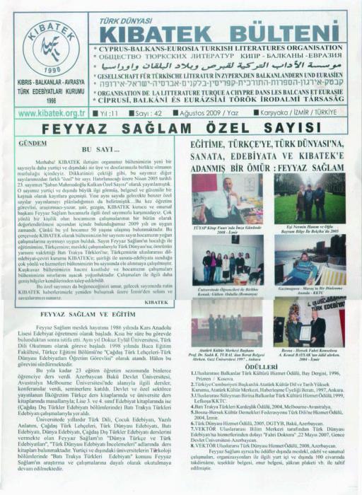 CEP SANAT - AĞUSTOS 2009 - SAYI 134 - KIRKLARELİ