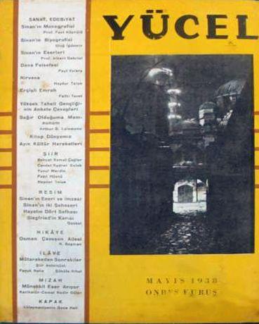 YÜCEL - AYLIK SANAT VE FİKİR DERGİSİ - SAYI 39 - MAYIS 1938