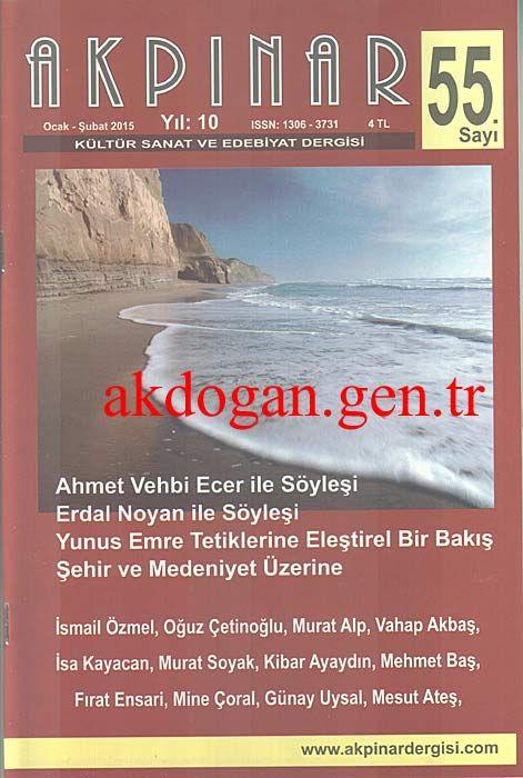 AKPINAR DERGİSİ - SAYI 55 - OCAK ŞUBAT 2015