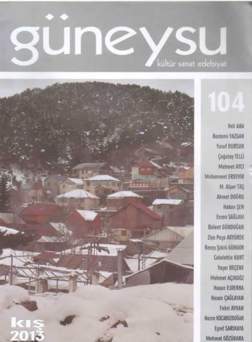 GÜNEYSU DERGİSİ - SAYI 104 - KIŞ 2013