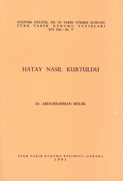 HATAY NASIL KURTULDU