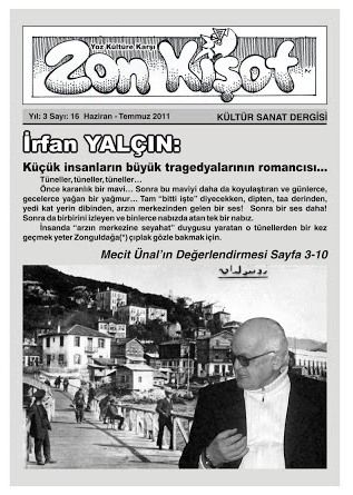 ZON KİŞOT DERGİSİ - SAYI 16 - HAZİRAN TEMMUZ 2011