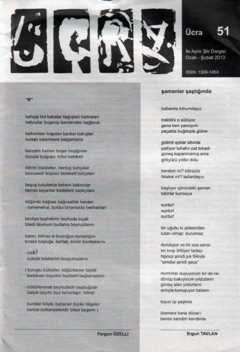 ÜCRA DERGİSİ - SAYI 51