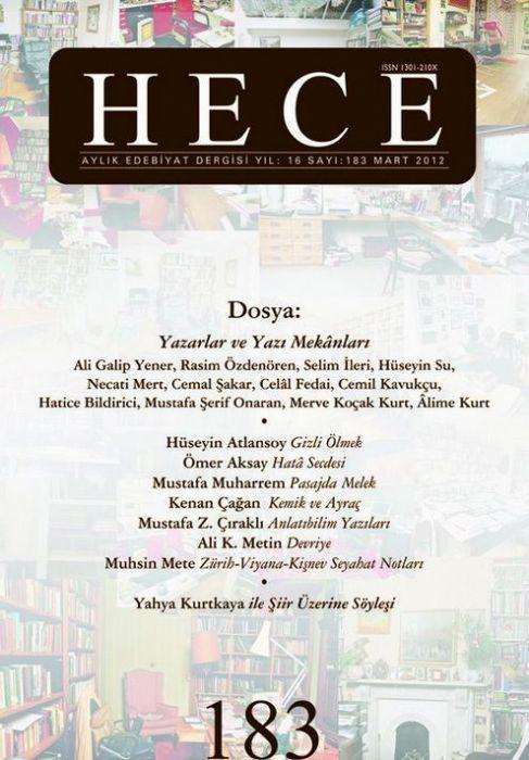 HECE DERGİSİ - SAYI 183 - MART 2012