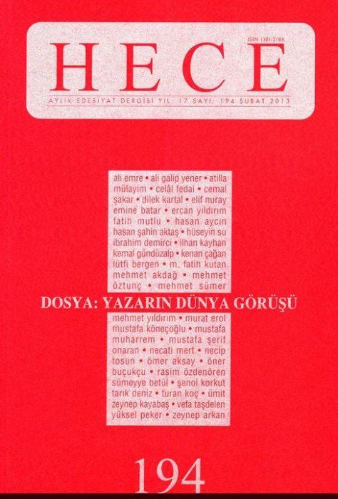 HECE DERGİSİ - SAYI 194 - ŞUBAT 2013