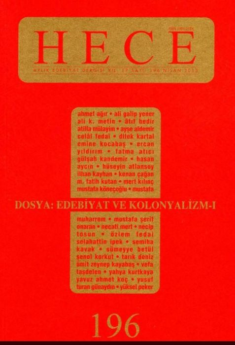 HECE DERGİSİ - SAYI 196 - NİSAN 2013