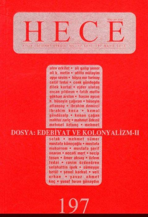 HECE DERGİSİ - SAYI 197 - MAYIS 2013