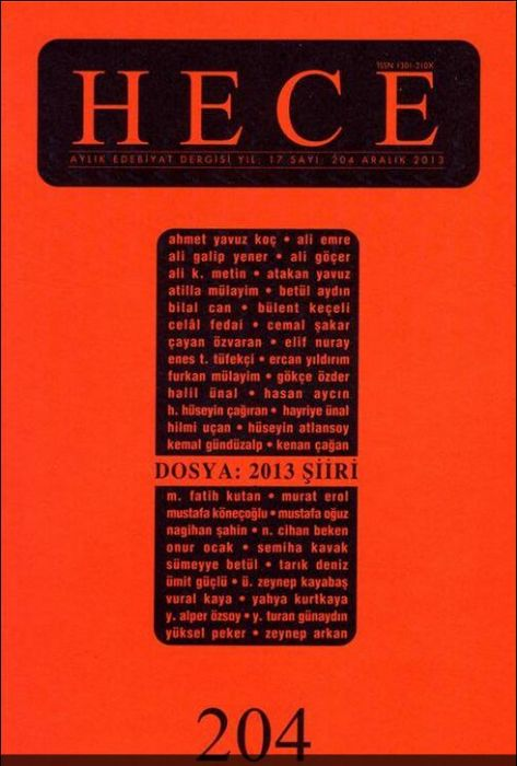 HECE DERGİSİ - SAYI 204 - ARALIK 2013