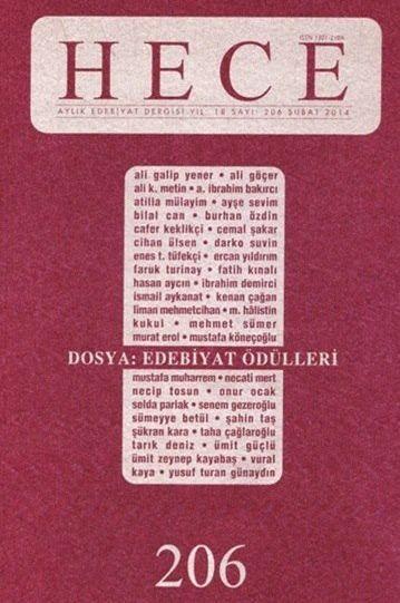 HECE DERGİSİ - SAYI 206 - ŞUBAT 2014