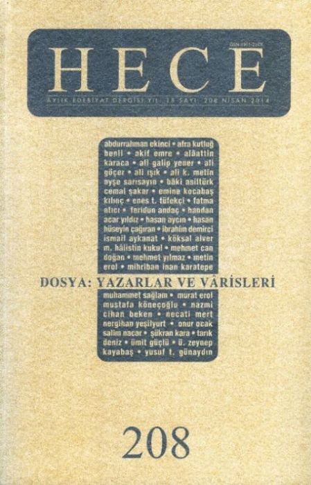 HECE DERGİSİ - SAYI 208 - NİSAN 2014
