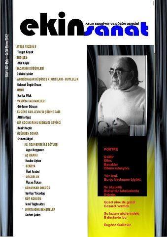 EKİN SANAT DERGİSİ - SAYI 80 - EKİM 2012