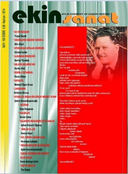 EKİN SANAT DERGİSİ - SAYI 100 - HAZİRAN 2014