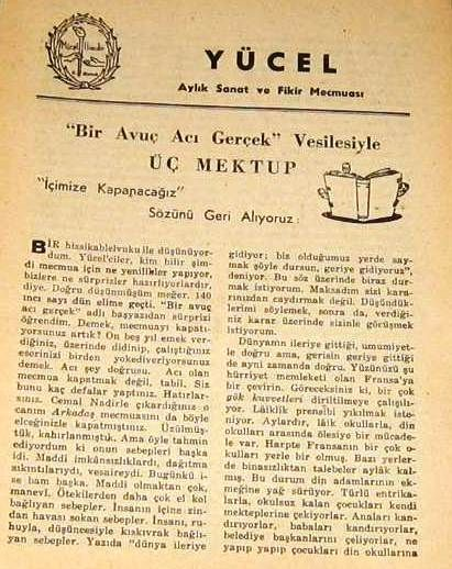 YÜCEL DERGİSİ - 1948 - SAYI 141